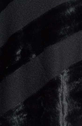 Alternate Image 2  - Nordstrom Faux Fur Poncho