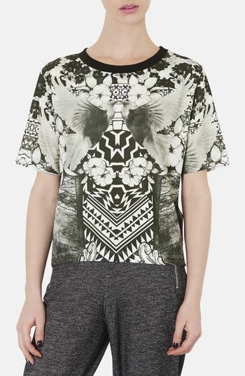Alternate Image 1 Selected - Topshop Dove Print Graphic Tee