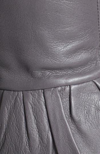 Alternate Image 2  - Echo Peplum Leather Gloves