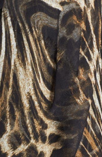 Alternate Image 2  - MICHAEL Michael Kors 'Moiré' Wool & Silk Scarf