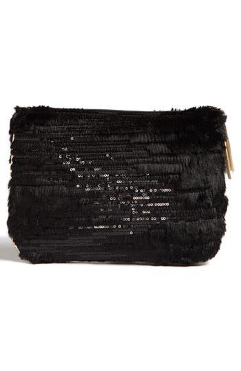 Alternate Image 3  - Stephanie Johnson 'Geneva Black' Large Flat Cosmetics Pouch