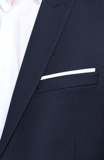 Alternate Image 3  - The Kooples Fitted Navy Wool Sportcoat