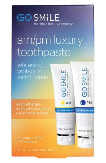 Alternate Image 2  - GO SMiLE® A.M. & P.M. Luxury Toothpastes