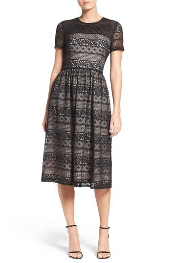 Maggy London Lace Midi Dre..