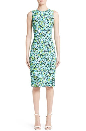 Michael Kors Floral Print Sheath Dress Nordstrom