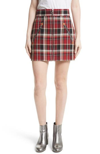 rag & bone Leah Plaid Skirt