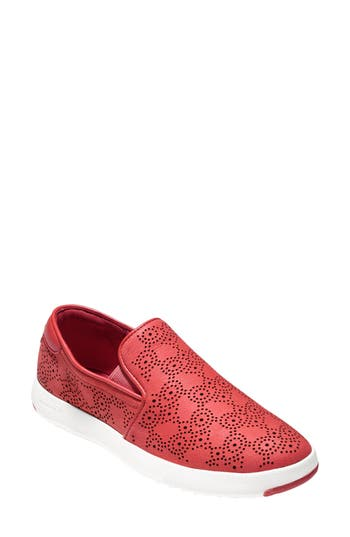 Cole Haan GrandPro Perforated Slip-On Sneaker (Women)
