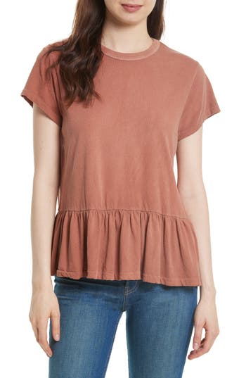 THE GREAT. The Ruffle Tee