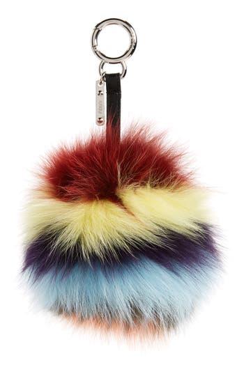 Fendi Genuine Fox Fur Bag Charm