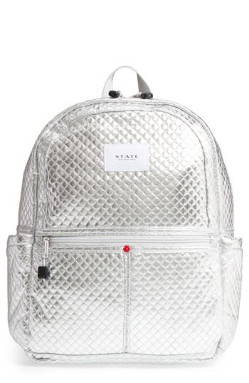 STATE Bags Quilted Metallic Kane Backpack