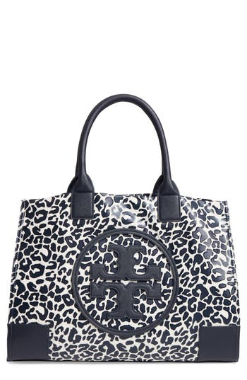 Tory Burch Ella Print Coated Nylon Tote