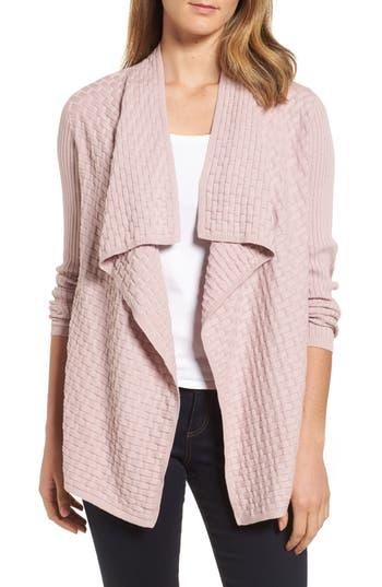 Chaus Mixed Cotton Knit Cardigan