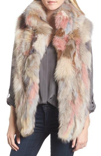 Jocelyn Genuine Fox Fur Vest