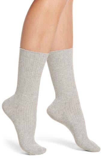 Nordstrom Ribbed Crew Socks
