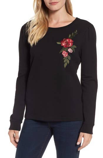 Sanctuary Rosalind Embroidered Sweatshirt