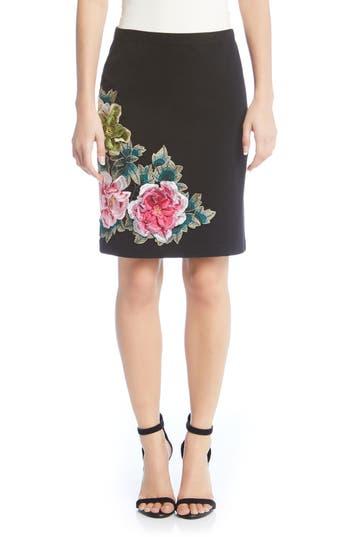 Karen Kane Textured Floral..