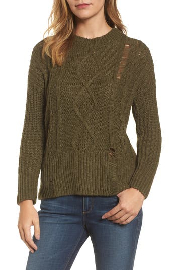 Lucky Brand Portland Cable Sweater