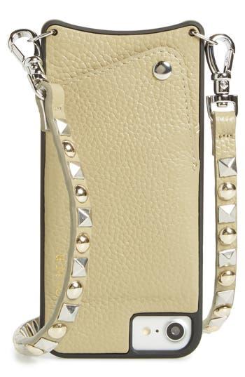 Bandolier Stella iPhone 6/7/8 & 6/7/8 Plus Leather Crossbody Case