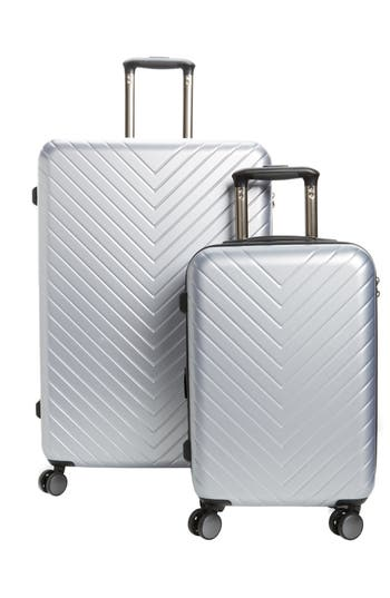 Nordstrom Chevron 29-Inch & 20-Inch Spinner Luggage Set ($408 Value)