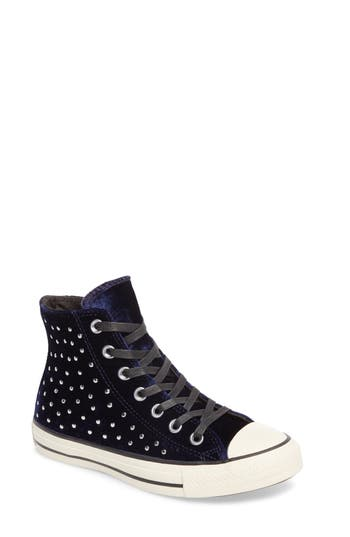 Converse Chuck Taylor? All Star? Studded High Top Sneakers (Women)
