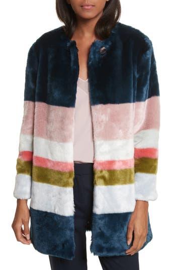 Ted Baker London Ramani Mississippi Faux Fur Coat