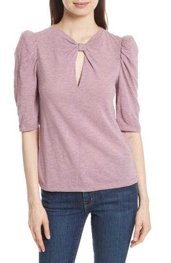 Rebecca Taylor Twist Neck Top