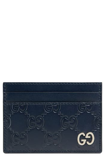 Dorian Leather Card Case by Gucci