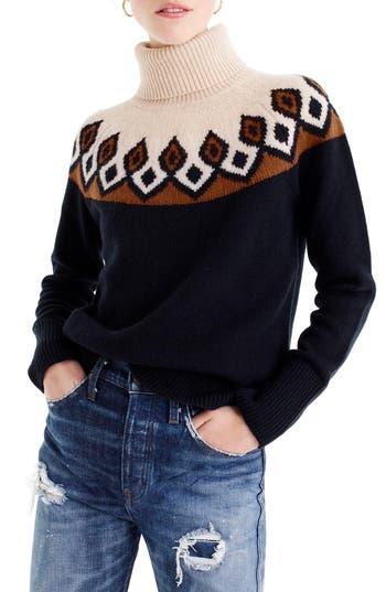 J.Crew Ambrose Fair Isle Merino Wool Sweater