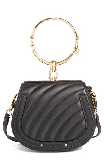 Small Nile Quilted Leather Crossbody Bag by ChloÉ
