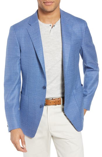 Samuelsohn Classic Fit Wool Blazer