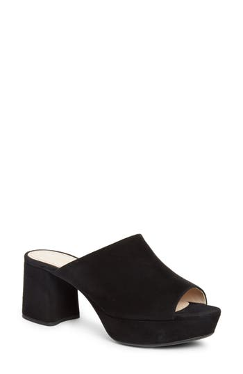 Peep Toe Mule by Prada