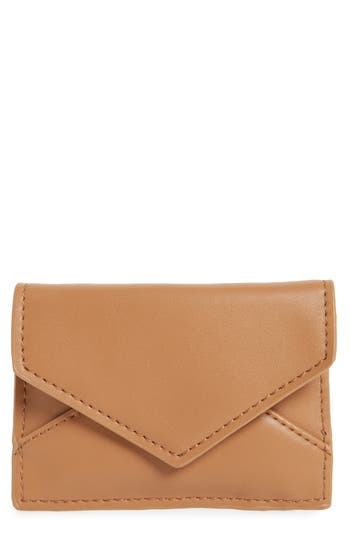 Faux Leather Envelope Card Case by Bp.