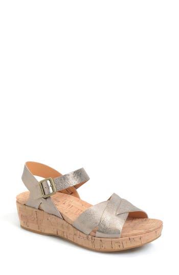 Kork-Ease? 'Myrna 2.0' Cork Wedge Sandal (Women)