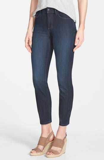 NYDJ 'Clarissa' Stretch Ankle Skinny Jeans (Dark Enzyme) (Regular & Petite)