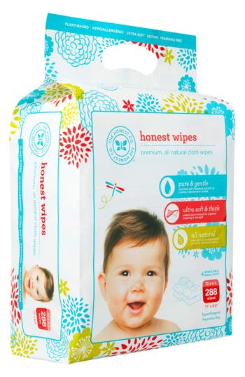Alternate Image 2  - The Honest Company Cloth Baby Wipes (4-Pack)