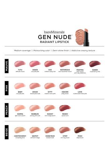 Gen Nude<sup>™</sup> Radiant Lipstick,                             Alternate thumbnail 2, color,