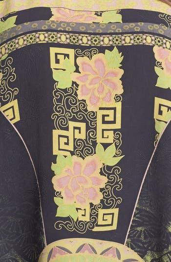 Alternate Image 3  - Citron Print Silk Tunic (Plus Size)