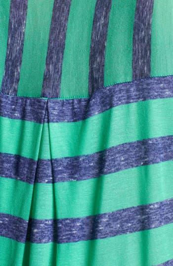 Alternate Image 3  - Splendid Stripe Box Pleat Top (Plus Size)