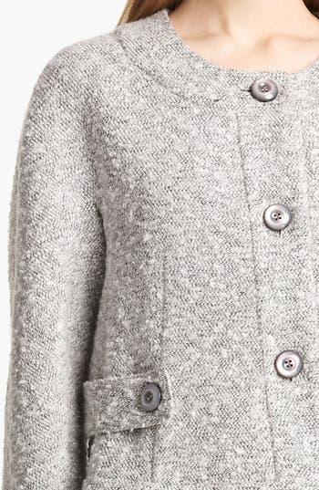 Alternate Image 3  - Armani Collezioni Bouclé Jacket