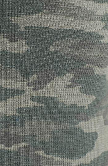 Alternate Image 3  - Free People Camo Print Thermal Tee