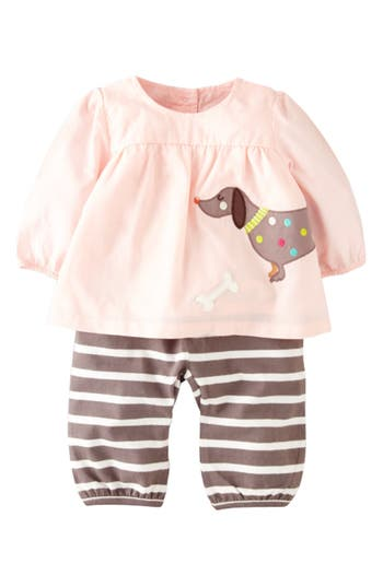 Mini Boden Appliqu 233 Tunic Amp Pants Baby Girls Nordstrom