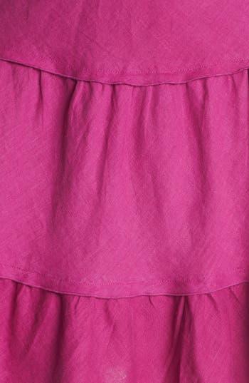 Alternate Image 3  - Allen Allen Tiered Linen Skirt