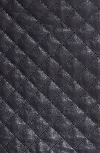 Alternate Image 4  - Haute Hippie Quilted Leather Miniskirt
