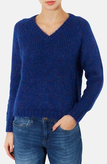 Alternate Image 1 Selected - Topshop V-Neck Sweater