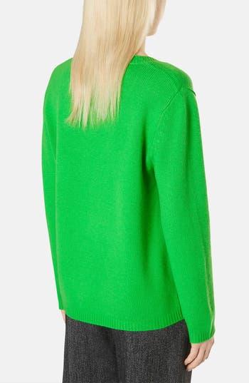 Alternate Image 2  - Topshop Boutique Cashmere V-Neck Sweater