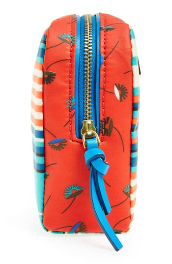Alternate Image 5  - MARC BY MARC JACOBS 'Large' Stripe Coated Cotton Cosmetics Case