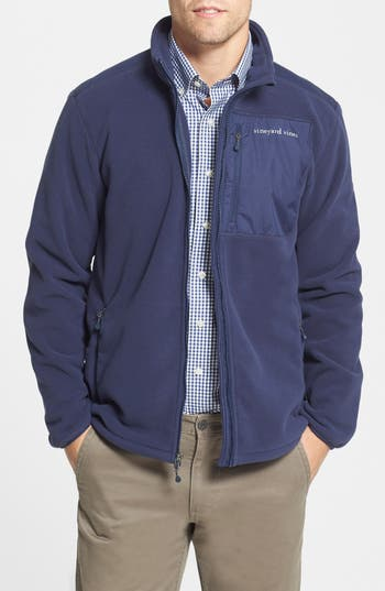 Vineyard Vines Polartec 174 Wind Pro 174 Full Zip Fleece Jacket