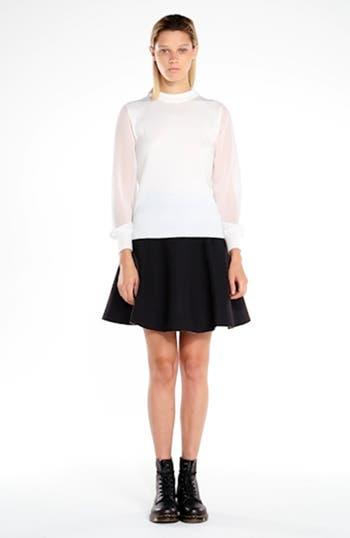 Chiffon Sleeve Knit Pullover, video thumbnail
