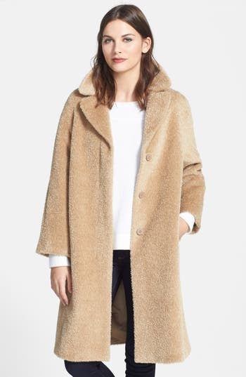 Max Mara Studio Filante Long Alpaca Amp Wool Coat Nordstrom