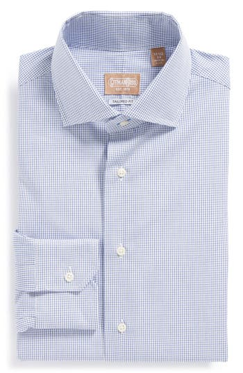 gitman tailored fit gingham dress shirt nordstrom ForNordstrom Custom Dress Shirts